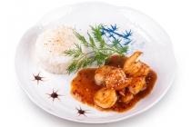 Креветки в тайском соусе